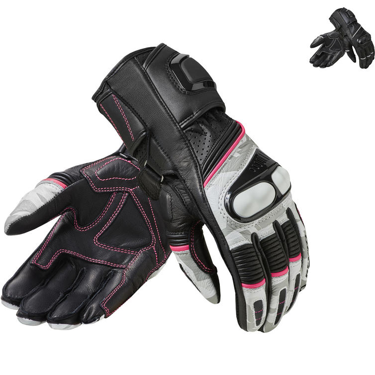 Rev It Xena 3 Ladies Leather Motorcycle Gloves