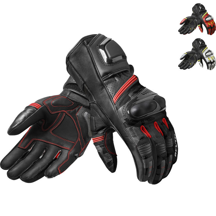 Rev It League Leather Motorcycle Gloves