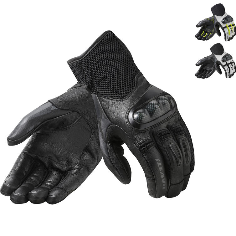 Rev It Prime Leather Motorcycle Gloves