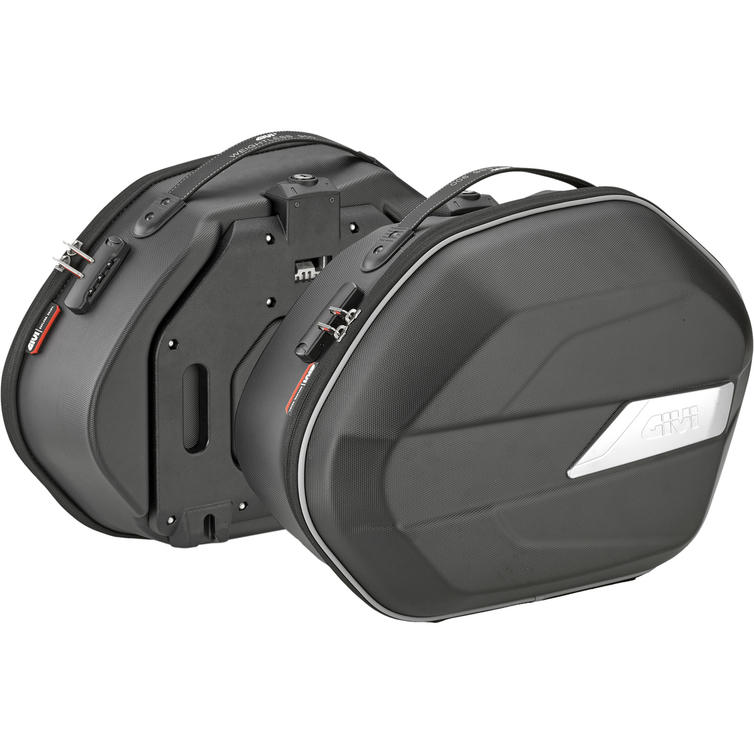 Givi Weightless Semi-Rigid Monokey Panniers 25L Black (WL900)
