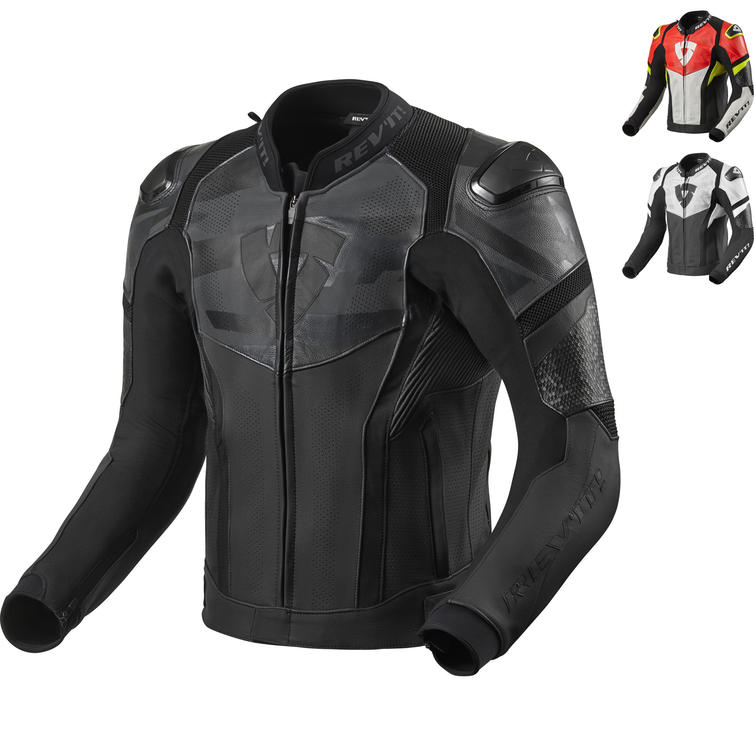 Rev It Hyperspeed Air Leather Motorcycle Jacket