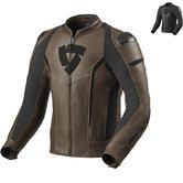 Rev It Glide Vintage Leather Motorcycle Jacket
