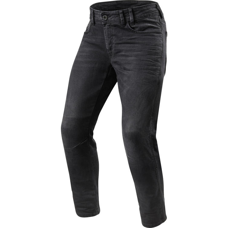 Rev It Detroit TF Medium Grey Used Motorcycle Jeans