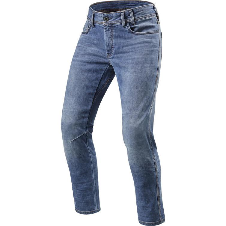 Rev It Detroit TF Classic Blue Used Motorcycle Jeans