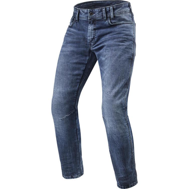 Rev It Detroit TF Medium Blue Motorcycle Jeans