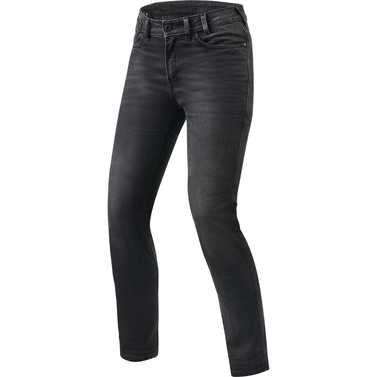 Rev It Victoria Ladies SF Medium Grey Used Motorcycle Jeans