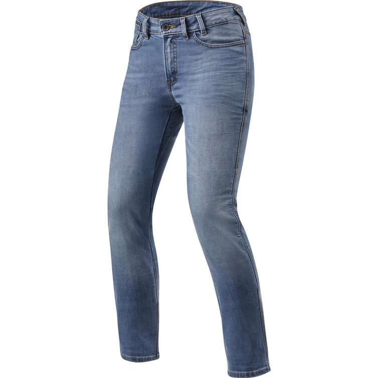 Rev It Victoria Ladies SF Classic Blue Used Motorcycle Jeans