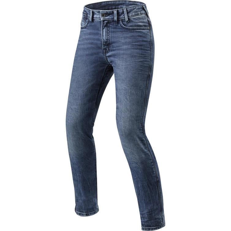 Rev It Victoria Ladies SF Medium Blue Motorcycle Jeans