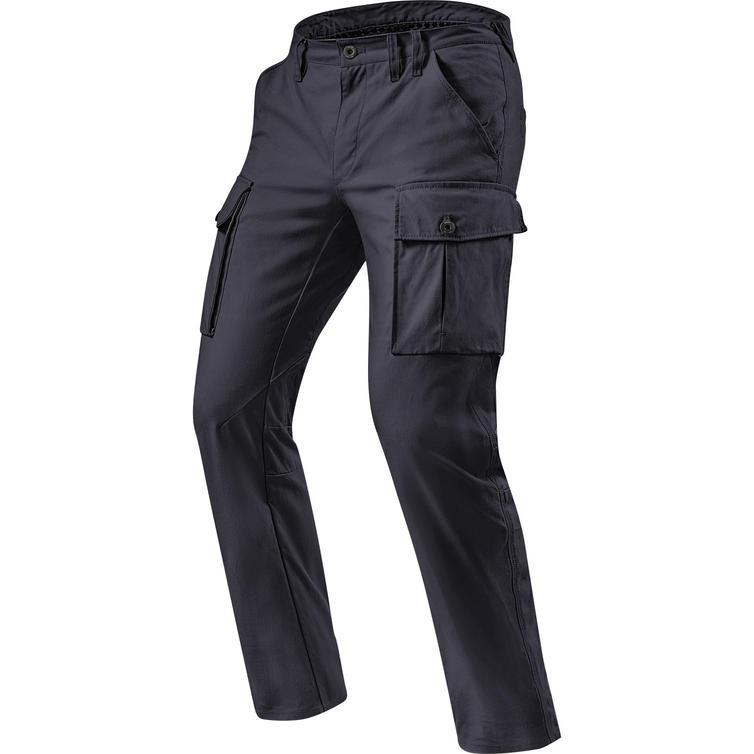 Rev It Cargo SF Black Motorcycle Trousers