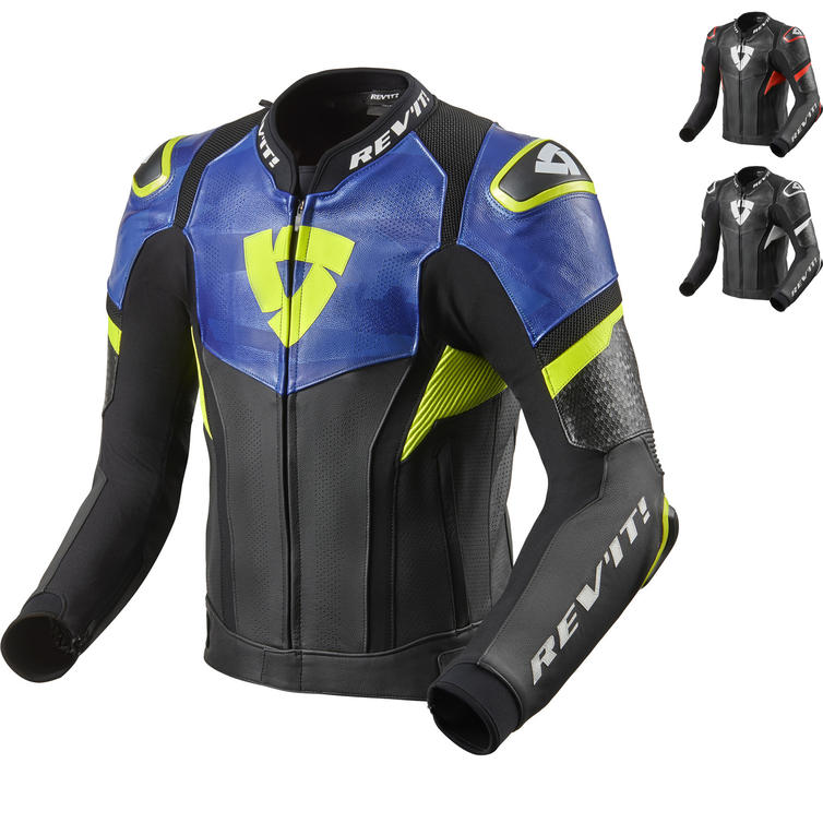 Rev It Hyperspeed Pro Leather Motorcycle Jacket
