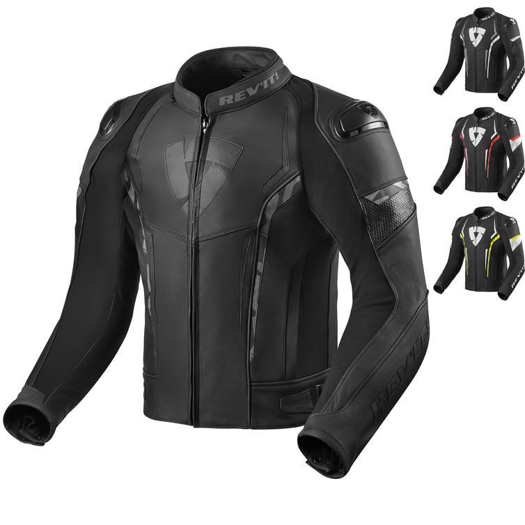Rev It Glide Leather Motorcycle Jacket