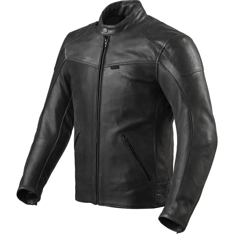 Rev It Sherwood Air Leather Motorcycle Jacket