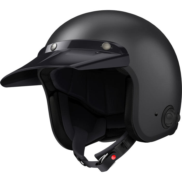 Sena Savage Open Face Motorcycle Helmet with Intercom