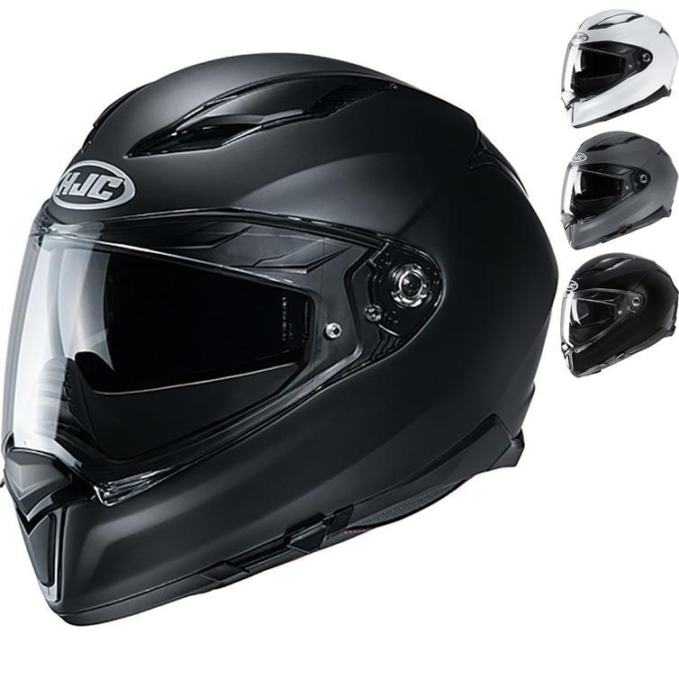 HJC F70 Plain Motorcycle Helmet