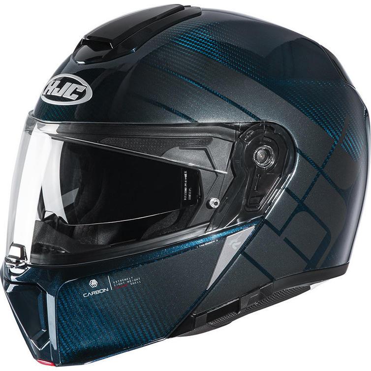 HJC RPHA 90S Balian Carbon Flip Front Motorcycle Helmet