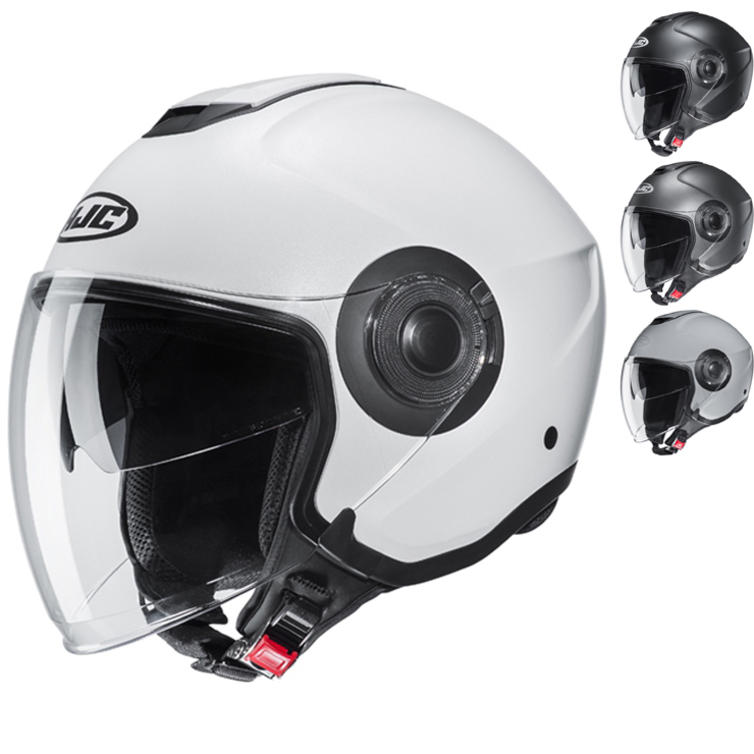 HJC I40 Plain Open Face Motorcycle Helmet