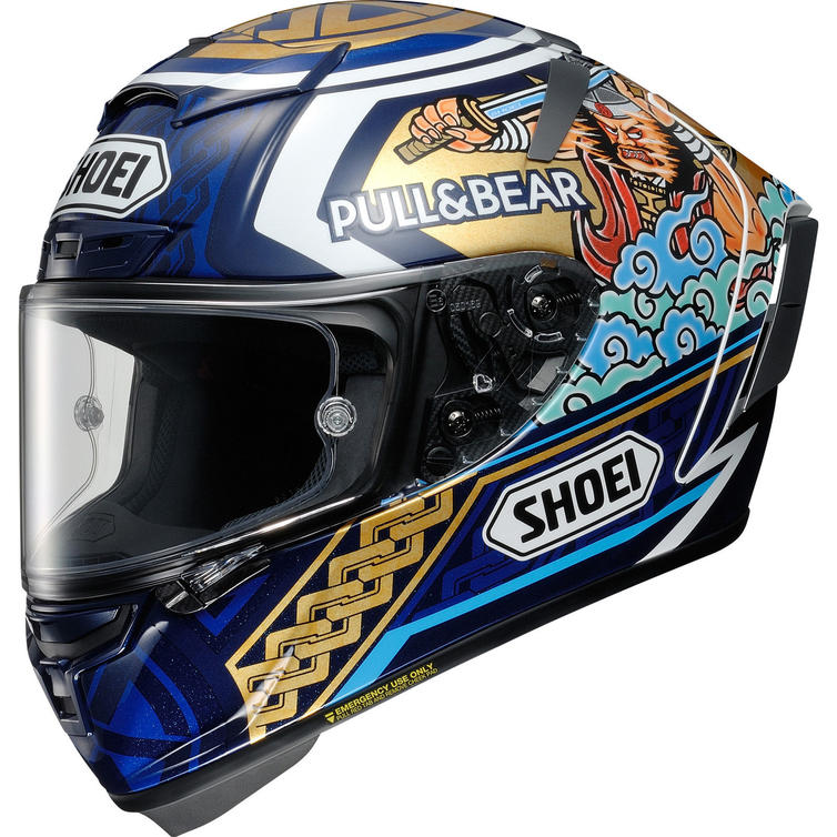 Shoei X-Spirit 3 Marquez Motegi 3 Replica Motorcycle Helmet