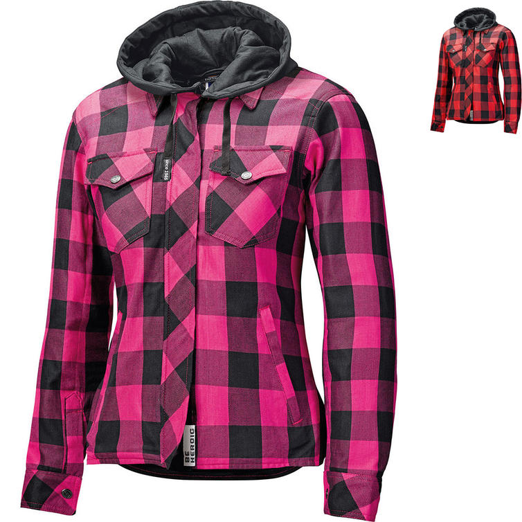 Held Lumberjack II Ladies Flannel Motorcycle Shirt