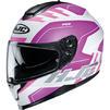 HJC C70 Koro Motorcycle Helmet & Visor Thumbnail 8