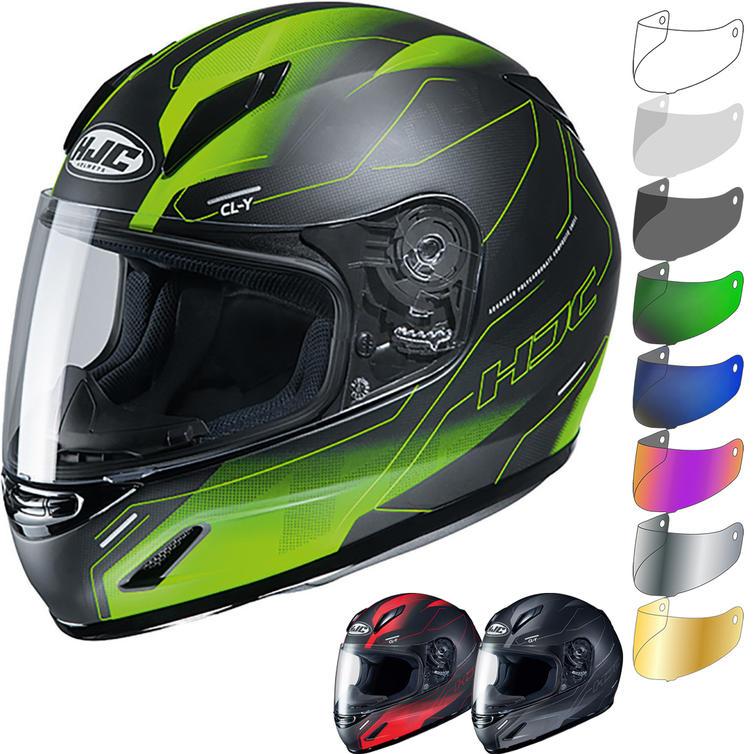 HJC CL-Y Taze Youth Motorcycle Helmet & Visor