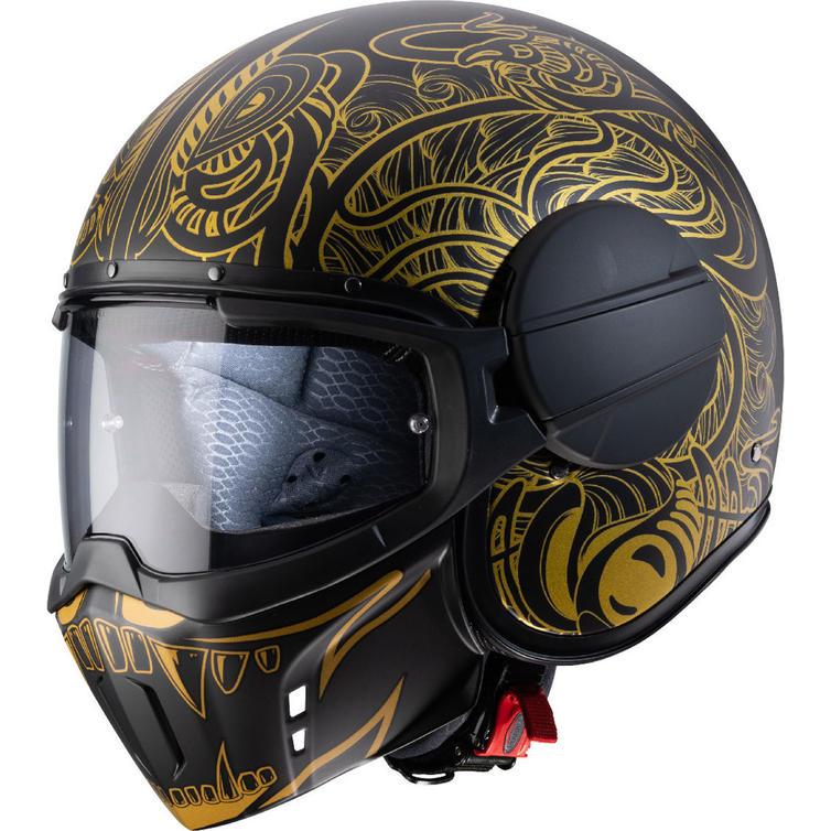 Caberg Ghost Maori Open Face Motorcycle Helmet
