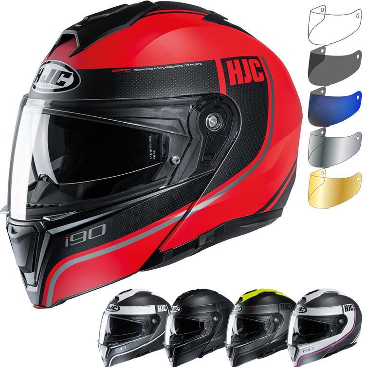 HJC I90 Davan Flip Front Motorcycle Helmet & Visor