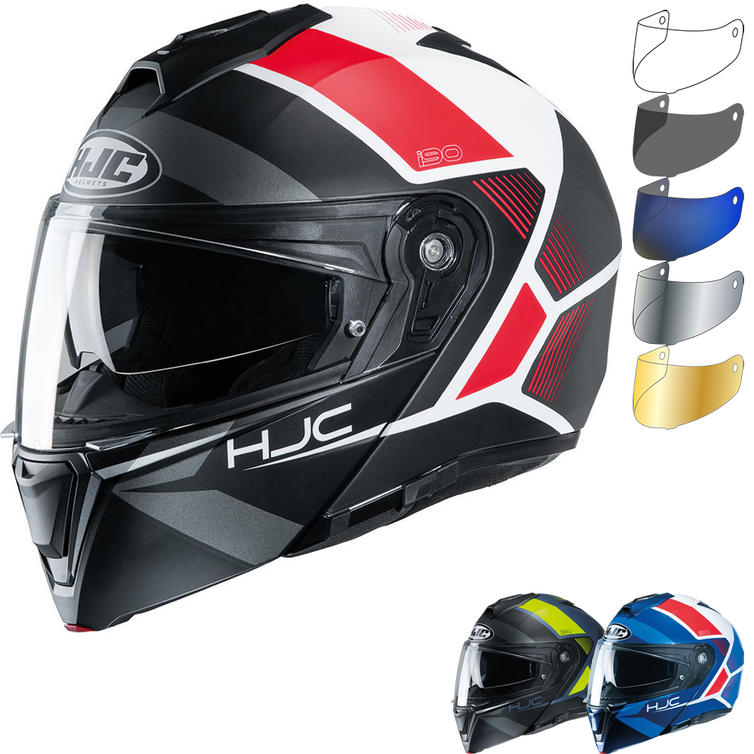 HJC I90 Hollen Flip Front Motorcycle Helmet & Visor