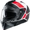 HJC I90 Hollen Flip Front Motorcycle Helmet & Visor Thumbnail 4