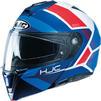 HJC I90 Hollen Flip Front Motorcycle Helmet & Visor Thumbnail 5