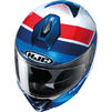 HJC I90 Hollen Flip Front Motorcycle Helmet & Visor Thumbnail 7