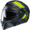 HJC I90 Hollen Flip Front Motorcycle Helmet & Visor Thumbnail 6
