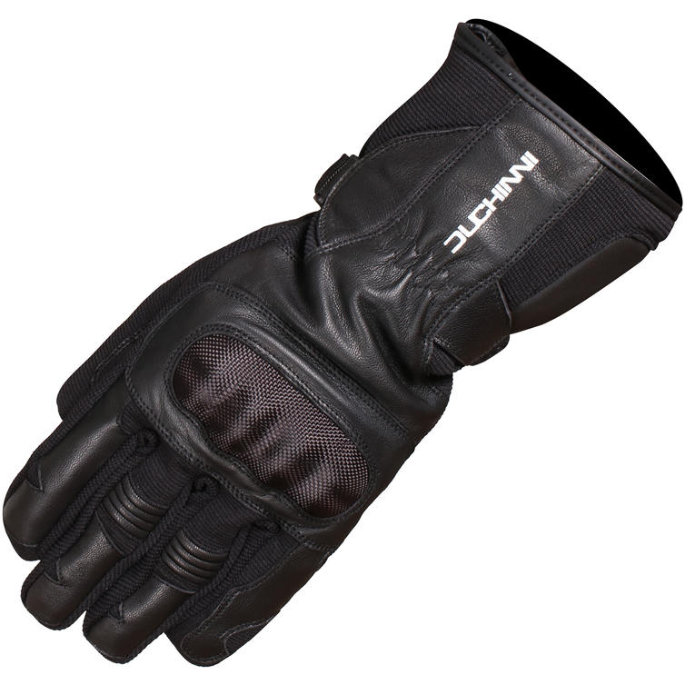 Duchinni Shadow Leather Motorcycle Gloves