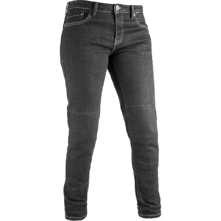 Oxford Original Approved Slim Fit Black Ladies Motorcycle Jeans