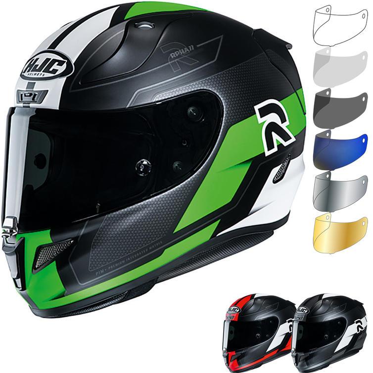 HJC RPHA 11 Fesk Motorcycle Helmet & Visor