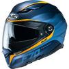 HJC F70 Feron Motorcycle Helmet & Visor Thumbnail 4