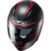 HJC F70 Feron Motorcycle Helmet & Visor Thumbnail 7