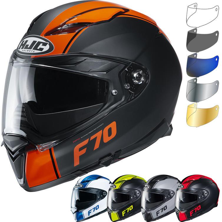 HJC F70 Mago Motorcycle Helmet & Visor