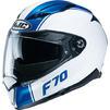 HJC F70 Mago Motorcycle Helmet & Visor Thumbnail 8
