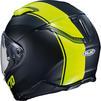 HJC F70 Mago Motorcycle Helmet & Visor Thumbnail 10