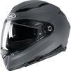 HJC F70 Plain Motorcycle Helmet & Visor Thumbnail 6