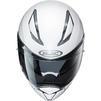 HJC F70 Plain Motorcycle Helmet & Visor Thumbnail 9