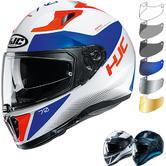 HJC I70 Tas Motorcycle Helmet & Visor