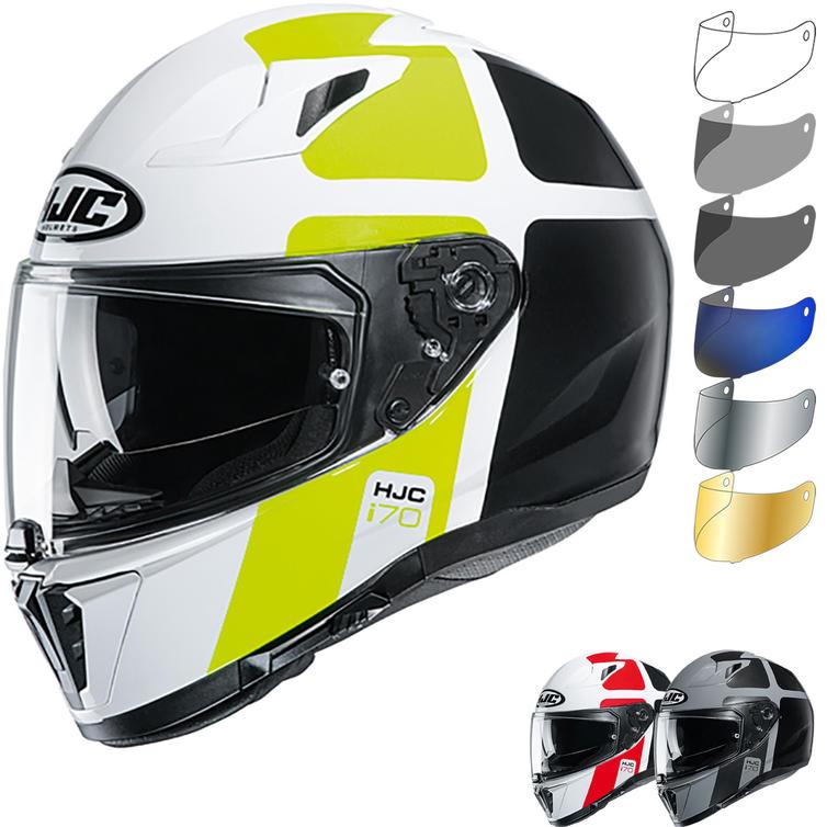 HJC I70 Prika Motorcycle Helmet & Visor