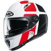 HJC I70 Prika Motorcycle Helmet & Visor Thumbnail 6