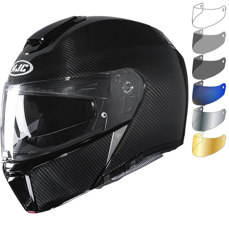 HJC RPHA 90S Carbon Flip Front Motorcycle Helmet & Visor