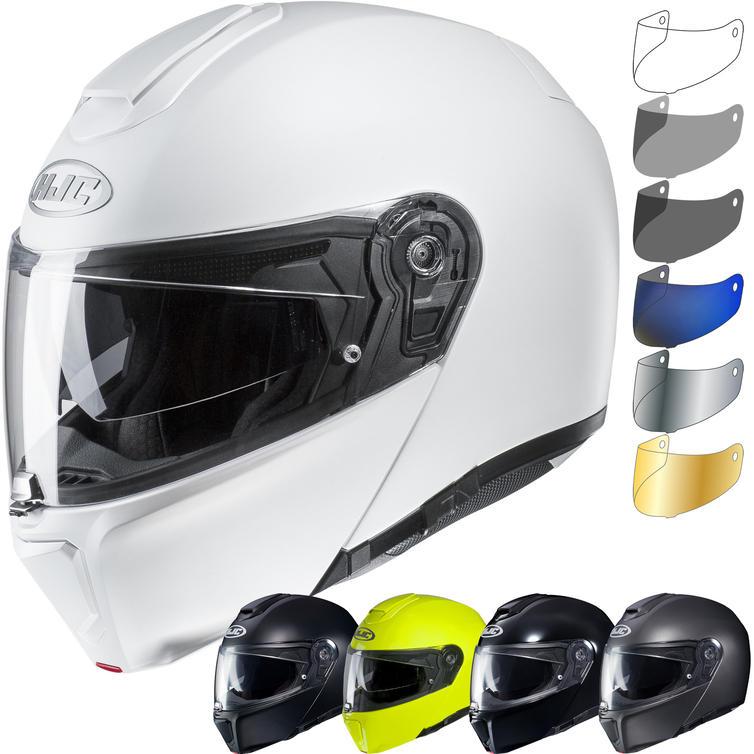 HJC RPHA 90S Plain Flip Front Motorcycle Helmet & Visor