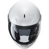 HJC V90 Plain Flip Front Motorcycle Helmet & Visor Thumbnail 8