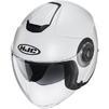 HJC I40 Plain Open Face Motorcycle Helmet & Visor Thumbnail 8
