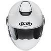 HJC I40 Plain Open Face Motorcycle Helmet & Visor Thumbnail 9