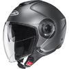 HJC I40 Plain Open Face Motorcycle Helmet & Visor Thumbnail 5